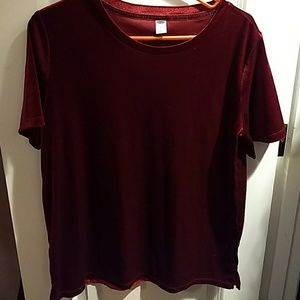 Old navy velvet t-shirt